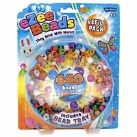 John Adams Ezee Beads Refill Pack Stick With Water 640 In 10 Colours