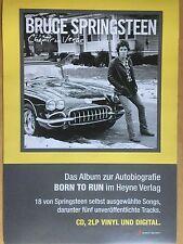BRUCE SPRINGSTEEN 2016 ALBUM  - orig.Concert Poster - Konzert Plakat  A1 NEU