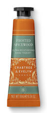 Crabtree & Evelyn Xmas FROSTED SPICEWOOD Moisturising Hand Therapy Cream 25g