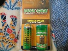 5 Foxworthy Outdoors Buck Cage Polymer Bead Scent Dispenser - Single Pack Orange