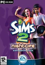 PC DVD Game the Sims II 2 Nightlife (Add-On) Expansion New