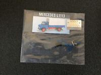 Bau den Lkw Mercedes Benz L1113 Ausgabe Nr.81 ohne Heft Hachette 1:12