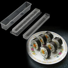 Sushi Roll Rice Maker Mould Roller Mold DIY Non-stick Easy Chef Kitchen JL