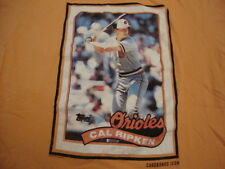 MLB Baltimore Orioles Major Baseball Cal Ripken Orange Throwback Soft T Shirt L