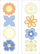 CUTTLEBUG Provo Craft FLOWERS 2 X 6 BEAUTIFUL MUST HAVE