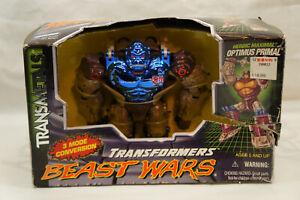 Transformers Transmetal Heroic Maximal OPTIMUS PRIMAL 1997 Hasbro BEAST WARS