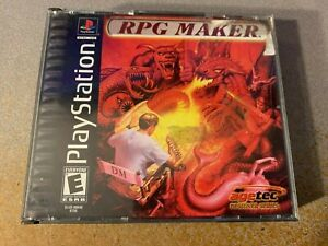 RPG Maker Complete PS1 Sony Playstation 1 Used