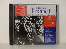 CD ALBUM Chefs d oeuvre de la chanson francaise CHARLES TRENET CF 006 NEUF