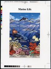 Antigua #1806, Photo Proof, M/S, Marine Life, Dolphin, Killer Whale