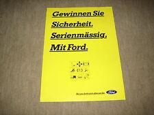 Ford Fiesta, Escort, Mondeo, Scorpio, Probe Schweiz Prospekt Brochure von 1/1994