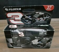 Dale Earnhardt #3 Nascar Black Camera FujiFilm  Flash Sealed 35 mm