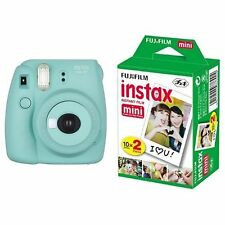 New Model: Fujifilm INSTAX Mini 8 Plus Instant Camera Mint Colour + 20 Film Set