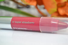 CLINIQUE CHUBBY STICK MOISTURIZING LIP COLOUR BALM 07 SUPER STRAWBERRY TRAVEL