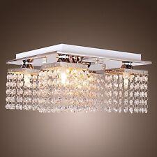 25w Crystal 5Lights Chandelier Ceiling Fixtures Pendant Flush Mount Living Room