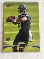 Russell Wilson 2012 Topps Prime Rookie Card #78 Seattle Seahawks RC Super Clean
