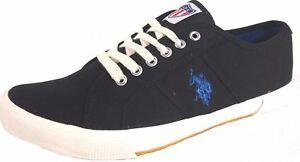 50% OFF--US Polo ASSN Lapaz Mens Canvas Casual Shoes Sneaker Black