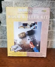 NEW WALL MAGIC BY WAGNER ROLLER KIT FAUX FINISH DECORATIVE PAINT ROLLER KIT