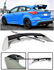 For 13-Up Ford Focus Hatchback RS Style ABS Plastic Rear Roof Wing Spoiler Lip