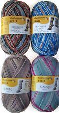 600g Regia Color 4x 150g Sockenwolle 6fach Socken stricken Strumpfgarn Wollpaket