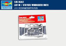 LAV-III STRYKER WINDSCREEN UNITS 1/35 Armored vehicle windshield Trumpeter kit