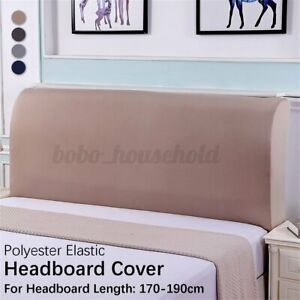 180cm Polyester Elastic Bed Headboard Cover Full Dustproof Protector  D2 .