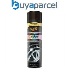 Meguiars Ultimate Tyre Shine Spray on Wet Look High Gloss 425g G192315