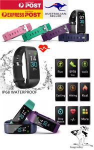 Bluetooth Smart fitness Watch Bracelet Heart rate Monitor Tracker FitBit Style