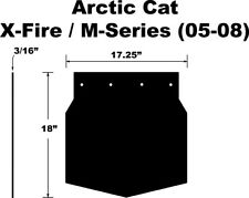 PDP Snow Flap for Arctic Cat CrossFire, M-Series 05-08