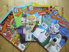 Wallace and Gromit comics #1, 2, 4 and 6