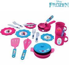 Accessori per la Cucina Frozen 19 Pezzi Elsa Anna Disney Giocattoli Bambine
