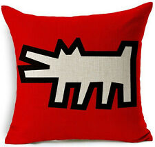 Kissenhülle Kissenbezug Motivkissen Kunst Pop Art Keith Haring Untitled