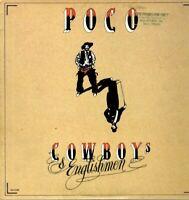 Poco Vinyl LP MCA Records 1982, (Promo Copy), MCA-5288, Cowboys & Englishmen~VG+