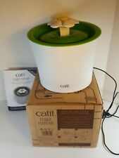 Catit Flower Fountain Cat Water Fountain with Triple-Action Filter