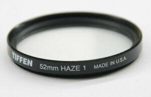 Tiffen - 52mm Haze 1 Lens Filter - Fair Glass - Used - W133