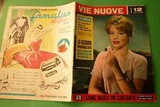 Voies Neuf 12/1959 Annette Stroyberg + Palazzo Gallo Étrangers + Hôpitaux Napoli