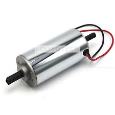 12000RPM 400w Chrome CNC 400W Air Cool Brush Spindle Motor