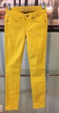 New Women Authentic USA Robin's Jean Mustard Skinny Casual Nice Pants Size 24