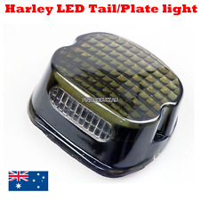 LED Smoke Tail Brake Light Low Profile Harley low rider super glide fat boy FLHR