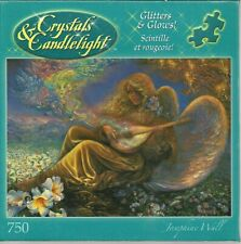 ANGEL MELODIES BY JOSEPHINE WALL - Complete - GLITTER PUZZLE