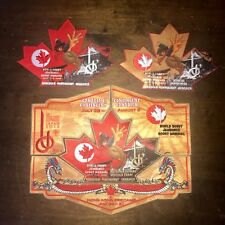 23rd World Scout Jamboree 2015 - FULL CANADA SET INCLUDING JOIN IN BADGE