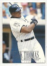 1996 Fleer Ultra Baseball - #44 - Frank Thomas - Chicago White Sox