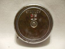 """STANLEY 4-Square Vintage 66"""" Tape Measure No. 7366 Chrome Plated over Brass"""