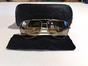 Chrome Hearts Grand Beast 12KGP-WEPV Sunglasses 65-13-125, White Piano Gloss
