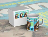 Striking Roger Daltrey/ WHO Look-In Mug - New in picture Box - Free P+P