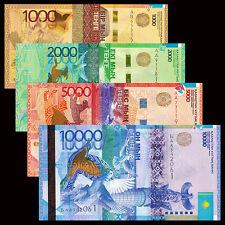 Kazakhstan 4 PCS Set, 1000 2000 5000 10000 Tenge, P-41 42 43 46, UNC