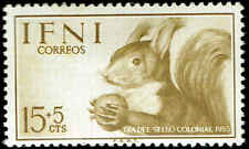 Scott # B24 - 1955 - ' Squirrel with Nut '