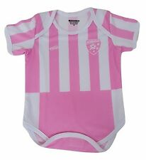 Honduras Soccer Pink Baby Outfit Jumpsuit Mameluco Size 3 to 12 months