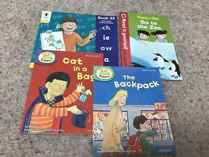 Learn To Read Book Bundle Biff+Chip Level 2+3 Cat In A Bag,The Backback Etc