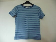 Short Sleeve Striped Petite Basic T-Shirts for Women