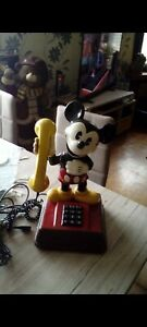 Mickey Maus Telefon aus den 70er